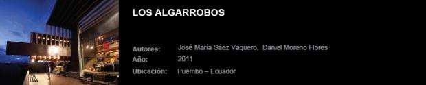 Algarrobos